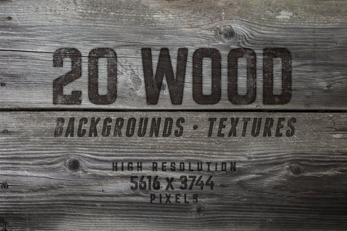 Thumbnail for 20 Wood Textures / Backgrounds