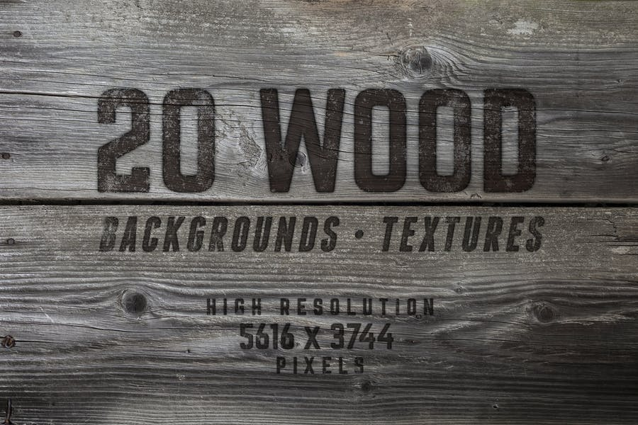 20-Wood-Textures-/-Backgrounds