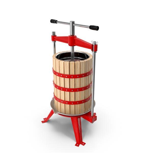 Holzrahmen Obst Wein Cider Press