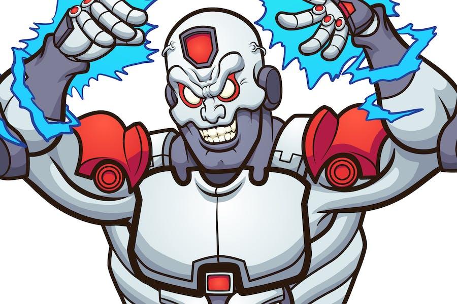 Böser Cyborg