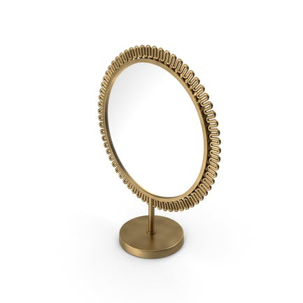 Brass Double Sided Mirror