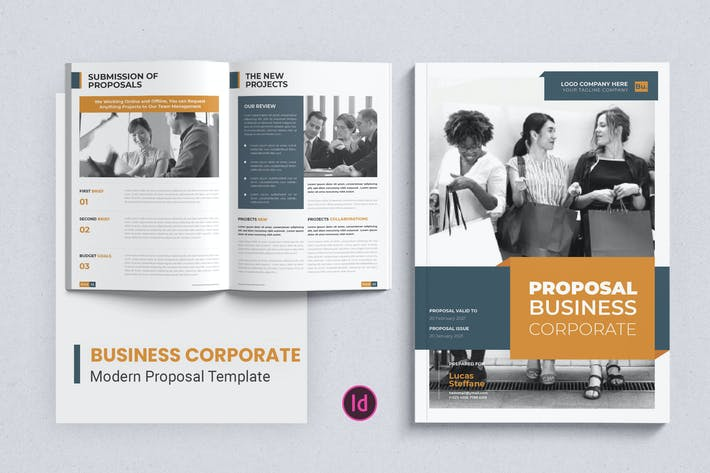 Thumbnail for Business Corporate – Proposal Template