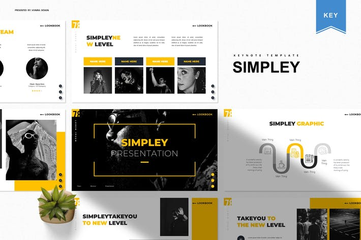 Thumbnail for Simpley | Шаблон Keynote