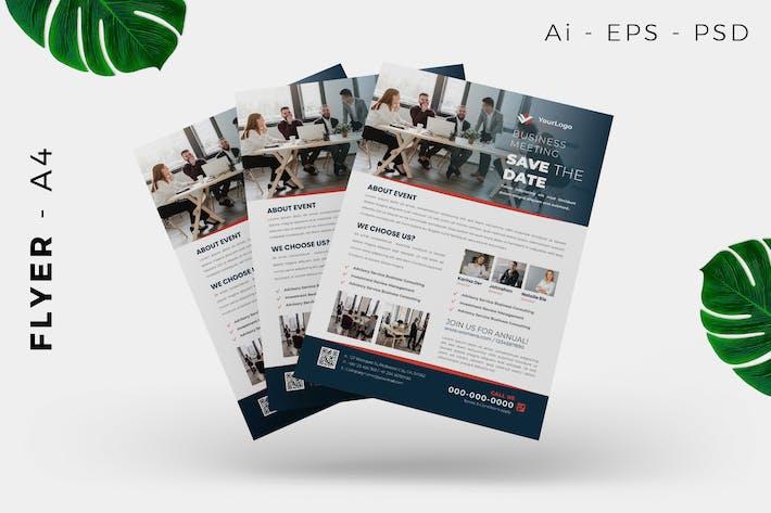 Thumbnail for Business Event Flyer Design