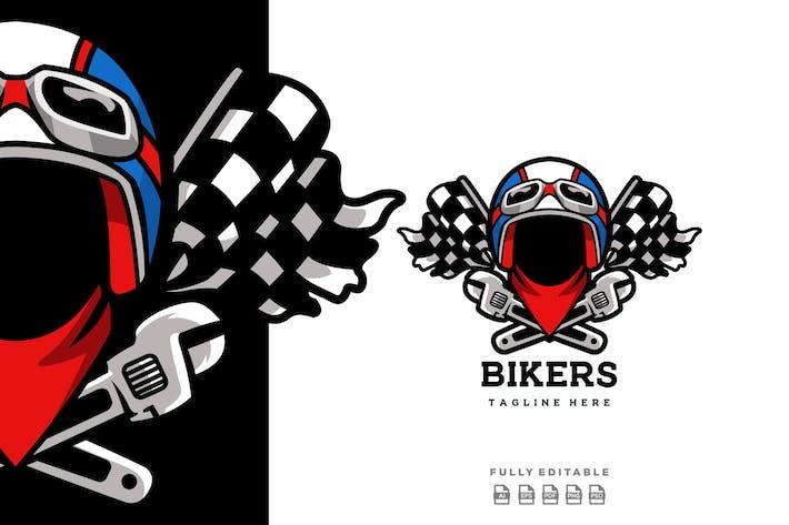 Bikers Biker Logo