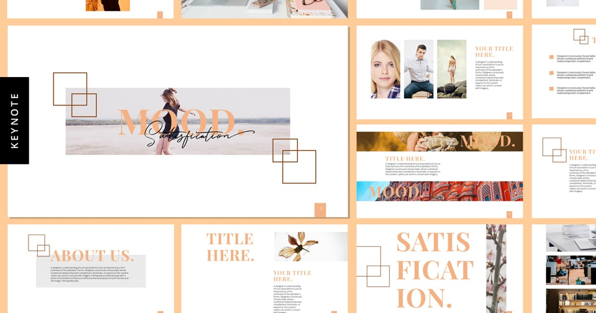 Download Mood - Keynote Template by Voltury