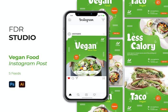 Thumbnail for Vegan Food Instagram Post
