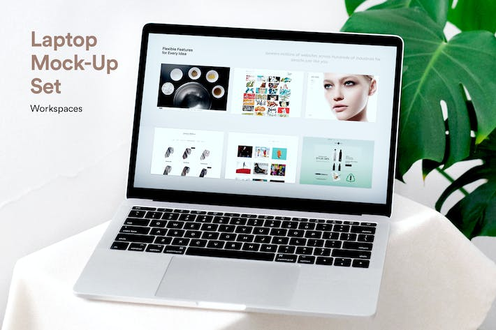 Cover Image For Laptop Screen Mockups