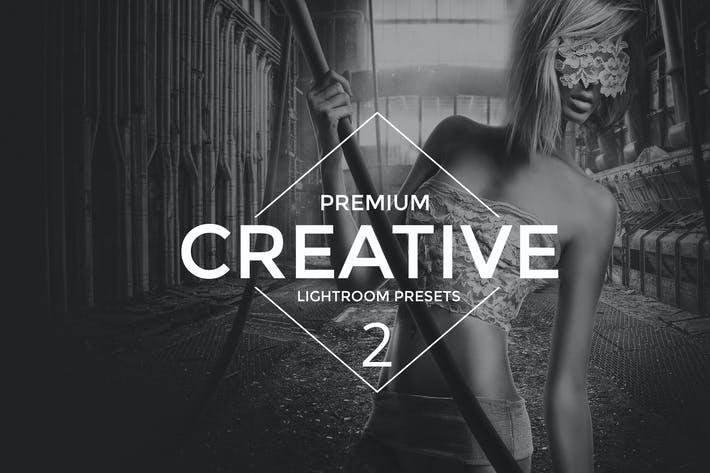 Cover Image For Creative 2 Lightroom Presets