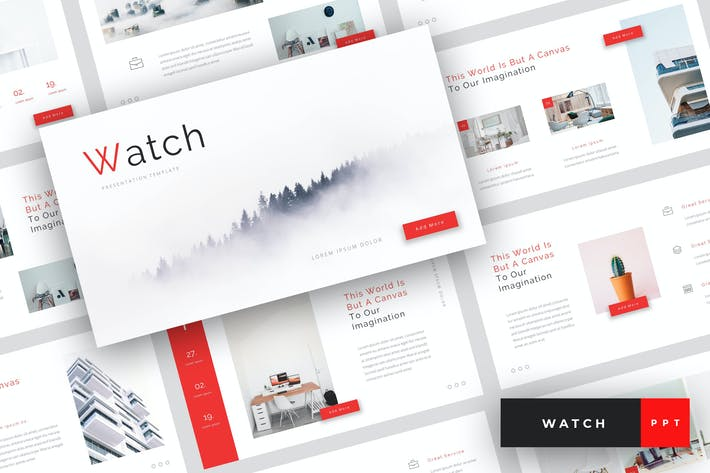Thumbnail for Watch - Creative PowerPoint Template