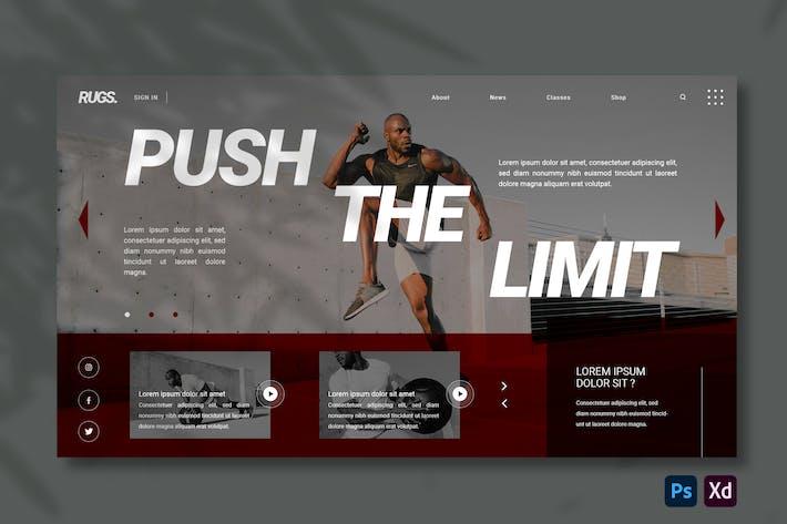 Gym | Hero Header