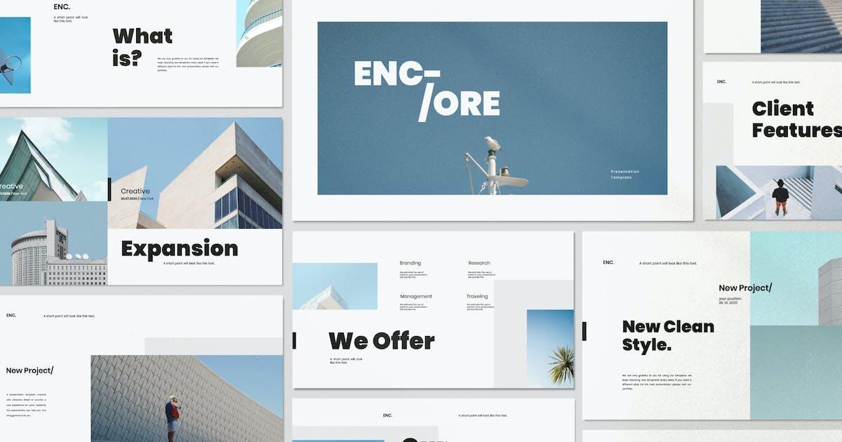 Download Encore - Minimal Business Keynote Corporate by dirtylinestudio