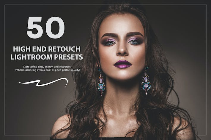 Thumbnail for 50 High End Retouch Lightroom Presets