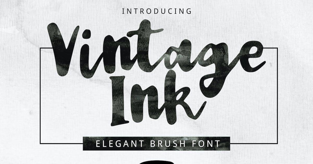 Download Vintage Ink Font by yandidesigns