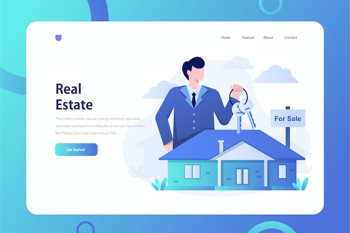 Thumbnail for Real Estate Onboarding Illustration