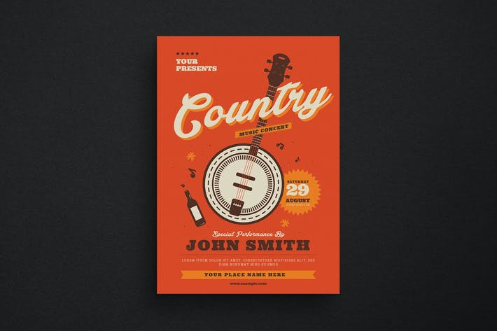 Thumbnail for Country Music Flyer