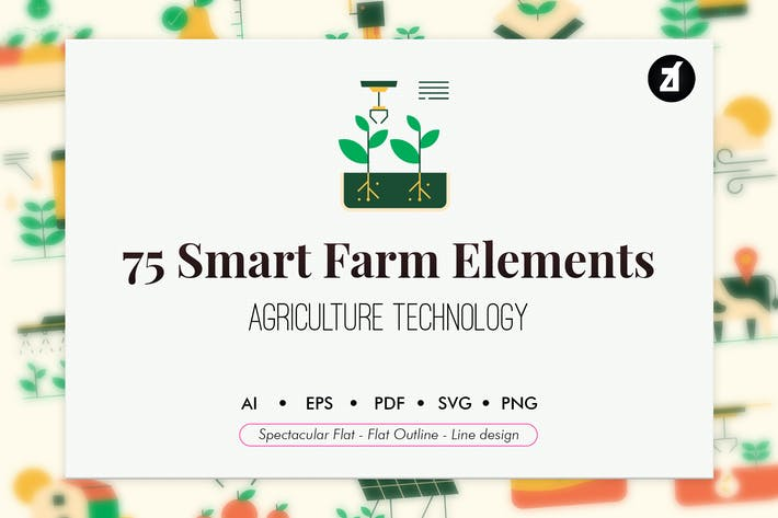 Thumbnail for 75 Smart farm elements
