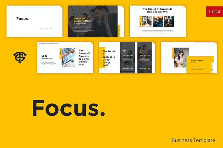 Thumbnail for Focus Business - Powerpoint