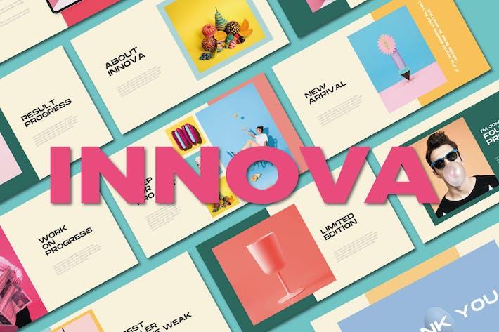 Thumbnail for Шаблон Keynote Innova