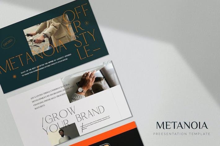 Thumbnail for Metanoia - Lookbook Fashion Keynotes