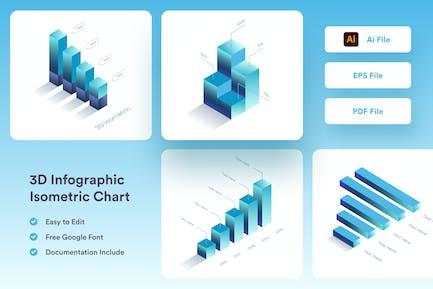 3D Infographic Chart - Muzitemp