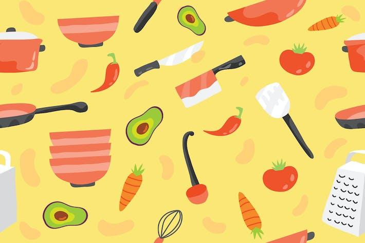 Thumbnail for Kitchen Utensils - Vector Illustration