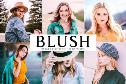 Blush Mobile & Desktop Lightroom Presets