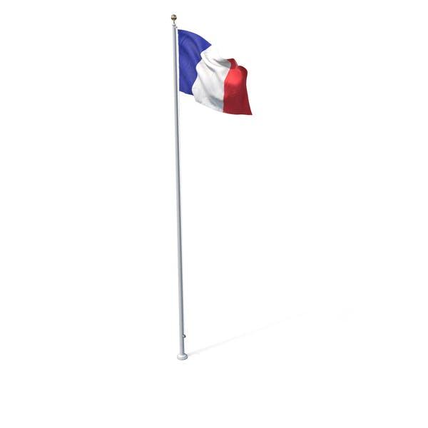 Thumbnail for Flag On Pole France