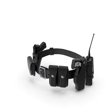 Police Modular Enforcement Equipment Belt