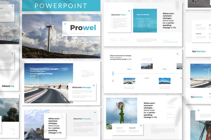 Thumbnail for Prowel- Modèle Powerpoint Energy