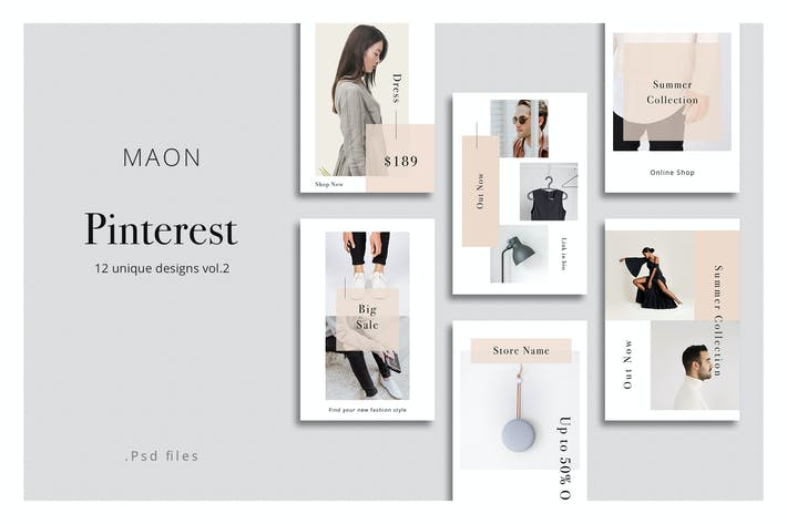Thumbnail for MAON - Pinterest Сообщения vol.2