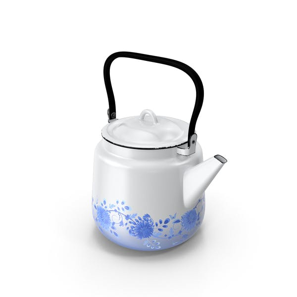 Cover Image for Enameled Teapot