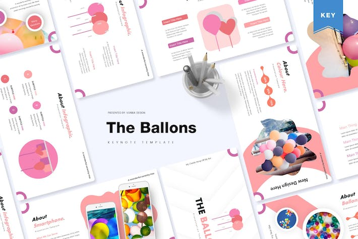 Thumbnail for The Ballons | Keynote Template