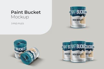 Paint Bucket - Mockup