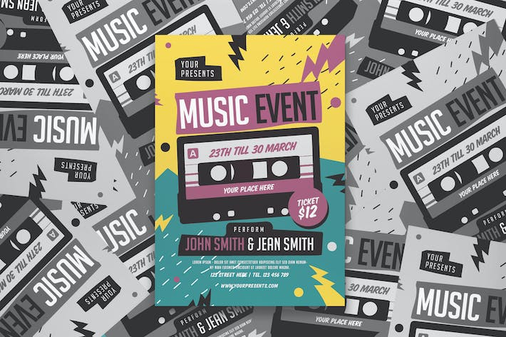 Thumbnail for Music Event Flyer