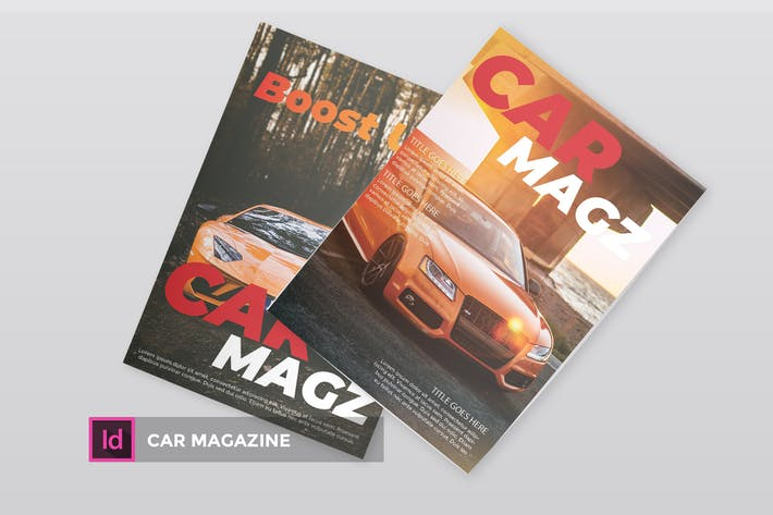 Thumbnail for Car | Magazine Template