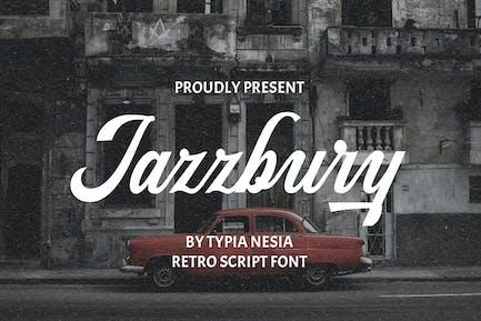 Jazzbury - Retro Script