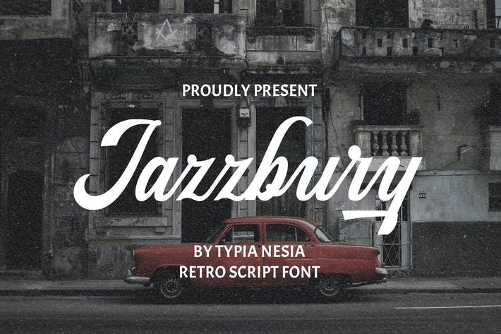 Thumbnail for Jazzbury - Retro Script