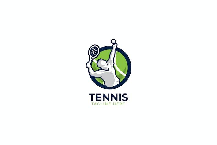 Thumbnail for Теннисный Шаблон логотипа