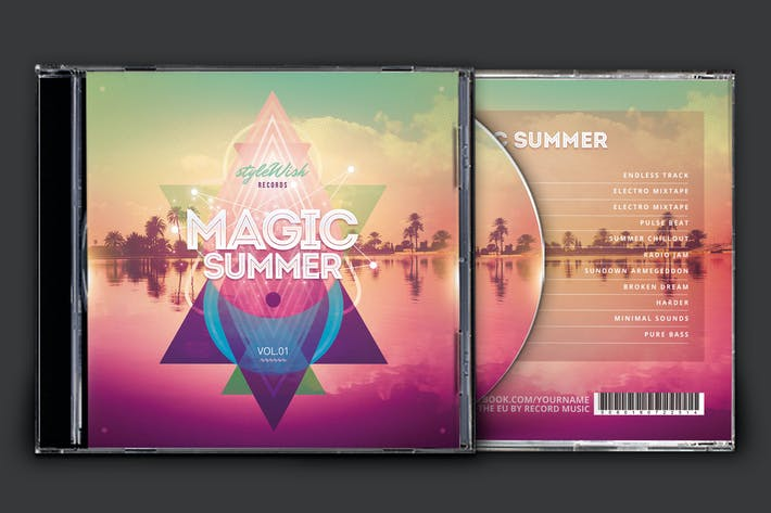 Thumbnail for Magic Summer CD Cover Artwork