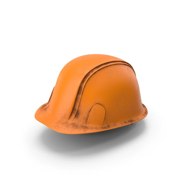 Hard Hat Dirty Orange