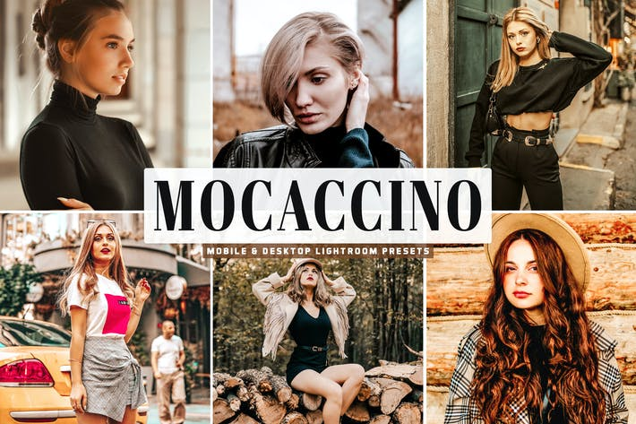 Thumbnail for Mocaccino Mobile & Desktop Lightroom Presets