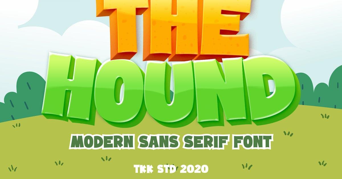Download The Hound - Modern cartoon font by Tokokoo