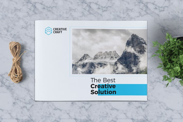 Thumbnail for Creative Brochure Template A5 Vol. 06
