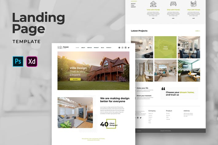 Thumbnail for Home and Living Landing Pages