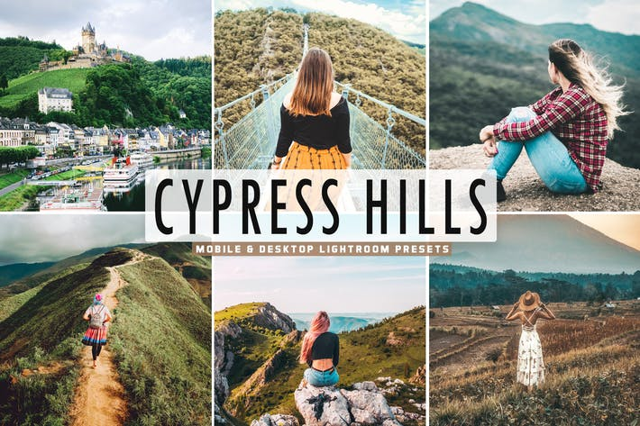 Thumbnail for Cypress Hills Mobile & Desktop Lightroom Presets