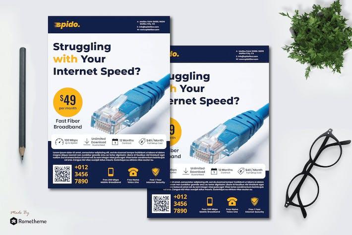 Thumbnail for Spido Fiber Service - Flyer RB