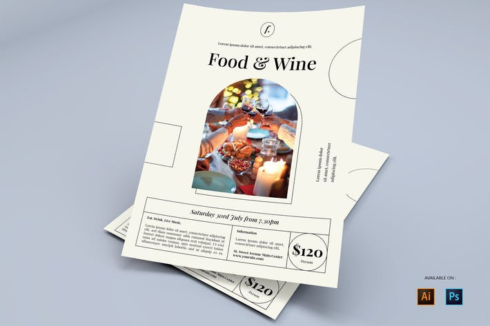 Dining - Flyers Design