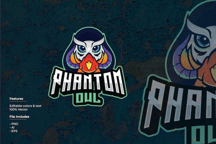 Thumbnail for Phantom Owl Sport and Esport Logo Template