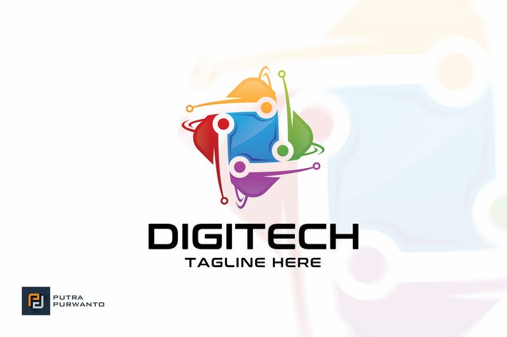 Thumbnail for Digitech - Logo Template